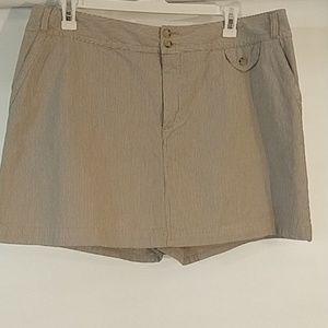St John's Bay Stretch skirt built in shorts 18W
